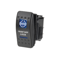 Narva Sealed Rocker Switch - Front Diff Lock (blue)