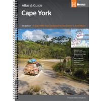 Hema Cape York Atlas & Guide - 208 Pages
