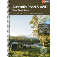 Australia Road & 4WD Easy Read Atlas