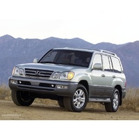 Lexus LX 470 Series HP Air Bag Helper Kit for Coil Springs (1998-2008)