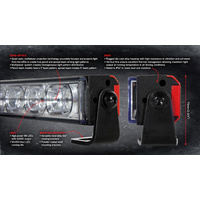 "Light Bar - LED 13"" 30w X Ray Vision"