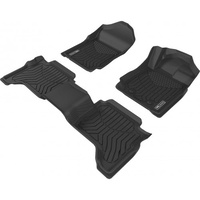 TruFit 3D Maxtrac Moulded Mats Suits Isuzu D-max (2012-2019)