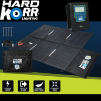 160w Heavy Duty Potable Solar Panels With CROCSKIN® Cell Armour