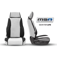 MSA Premium Seat Covers Front Twin Buckets (Airbag Seats)