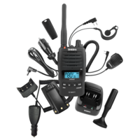 UHF 5 Watt UHF Waterproof CB Handheld Radio ƒ?? Deluxe Pack