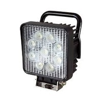 Work Light - Square 27w LED X Ray Vision